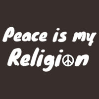 peace is my religion. Design